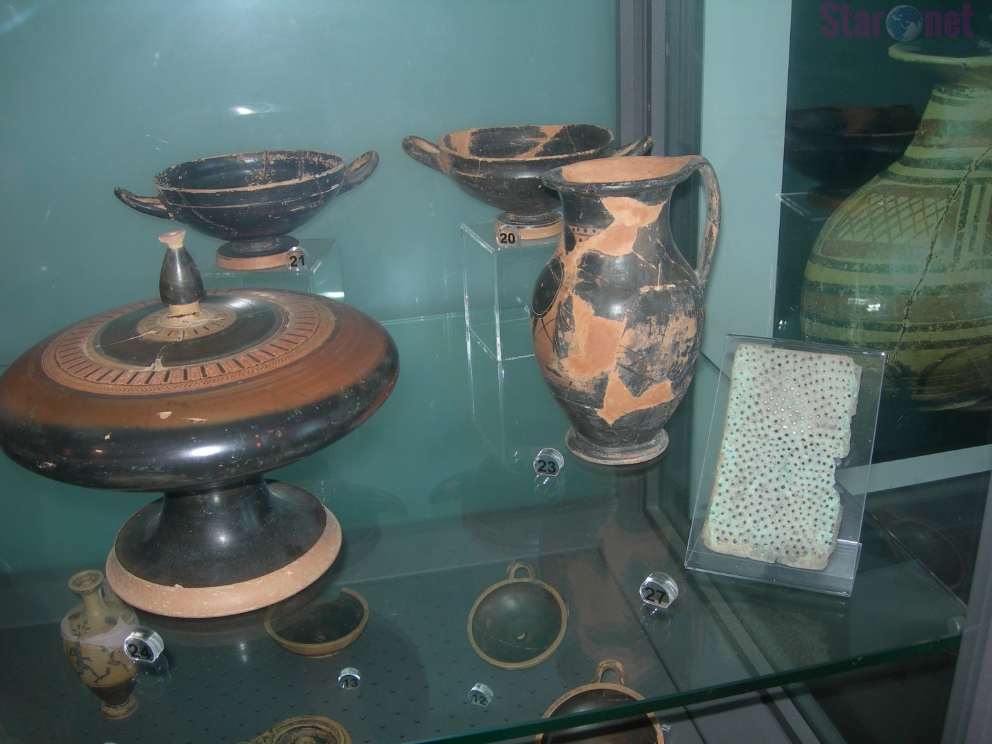 finds of the museum of palinuro